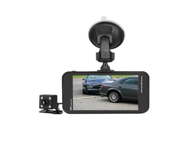 dual dash cam reverse cam kit