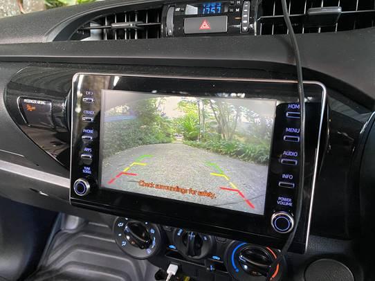 2021 Toyota Hilux camera